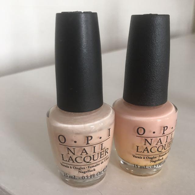 Passion Nail Polish: OPI Passion And Bubble Bath Nail Polish, Health & Beauty