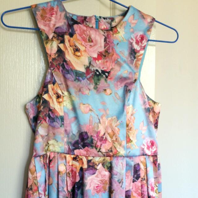 Paperheart S8 Floral Skater Dress