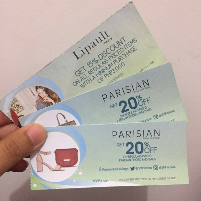 Parisian and Lipault Discount Coupons