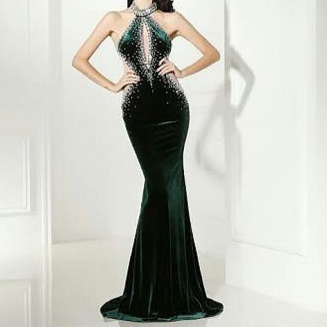 Party Long Dress Mewah