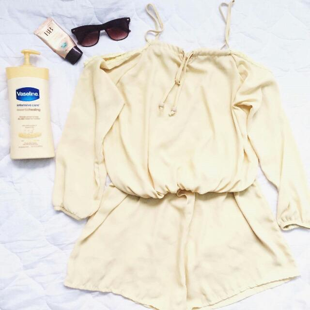 Pastel Yellow Onesie