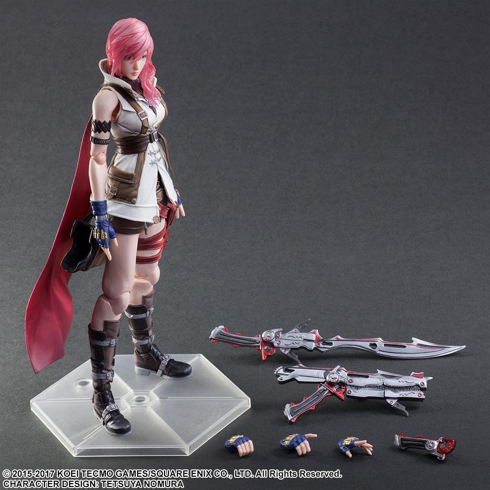 Resultado de imagem para Play Arts Kai Final fantasy Dissidia Lightning