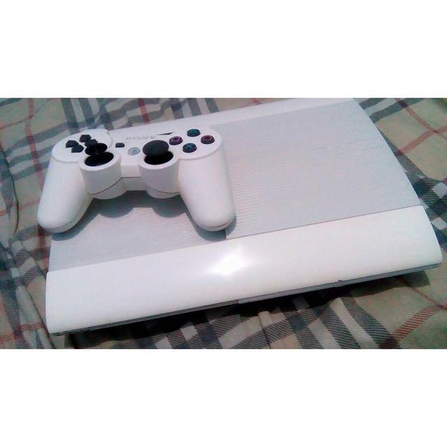 Ps3 white 500gb slim
