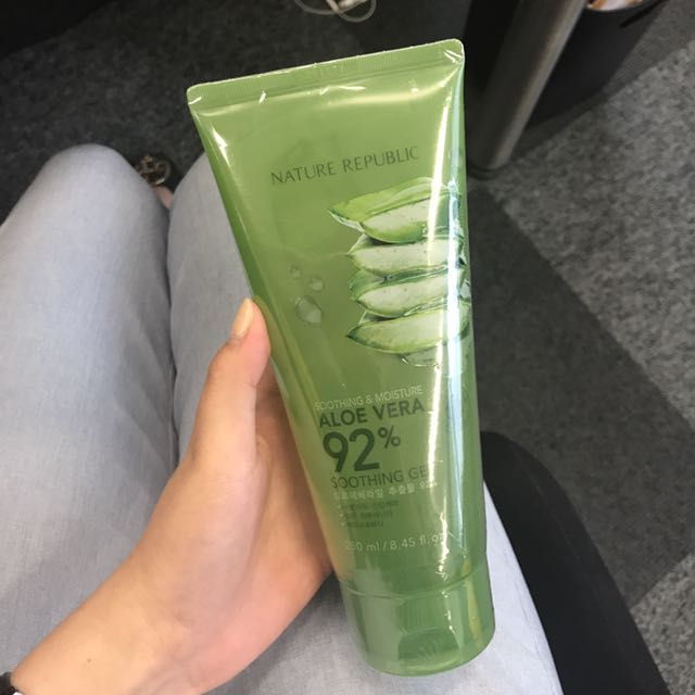 READYSTOCK aloe nature republic
