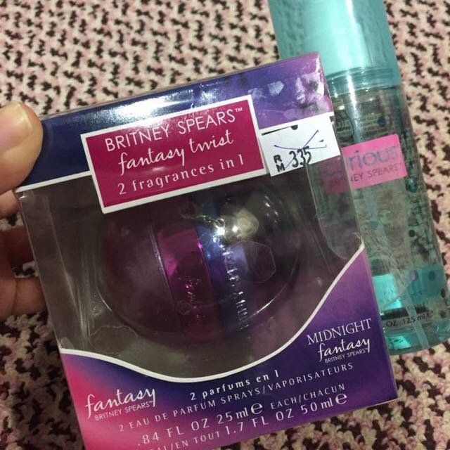 REDUCED #FreePostage Britney 2 In 1 Spears Perfume Duo Set + Free gift!