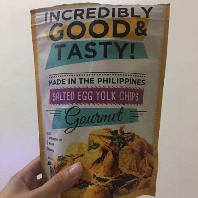 Salo Salted Egg Chips