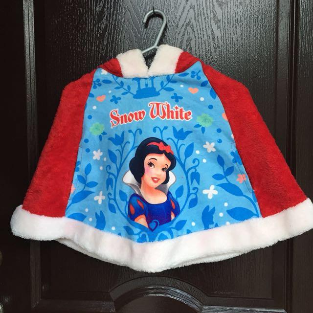 """Santa Costume (cape) """"snowwhite"""""""