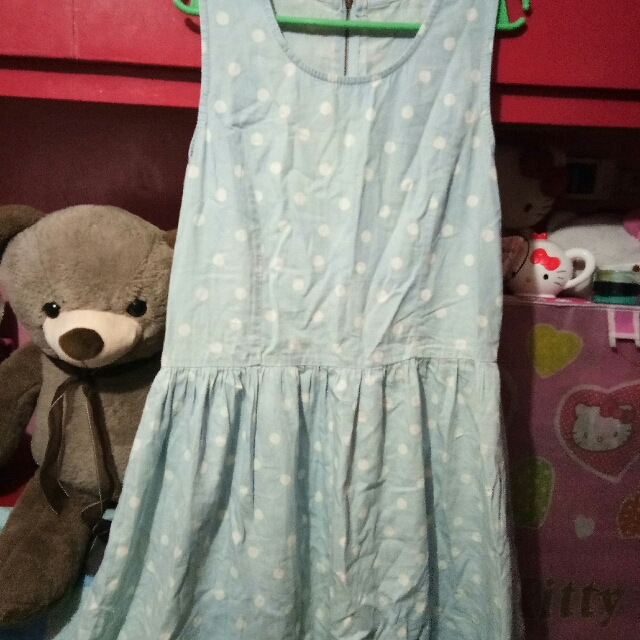 soft maong dress