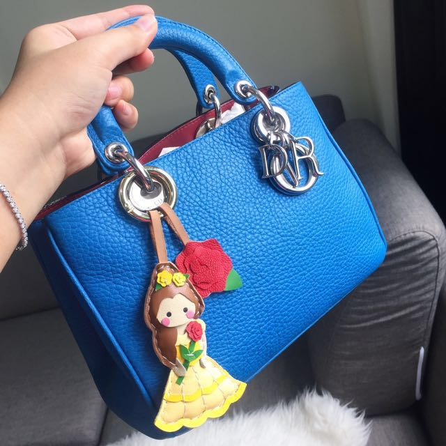 b3ca8fe74e3 ❌SOLD❌ Very Good Condition Small / Mini Dior Diorissimo In Blue Taurillon  Leather and SHW, Luxury, Bags & Wallets on Carousell
