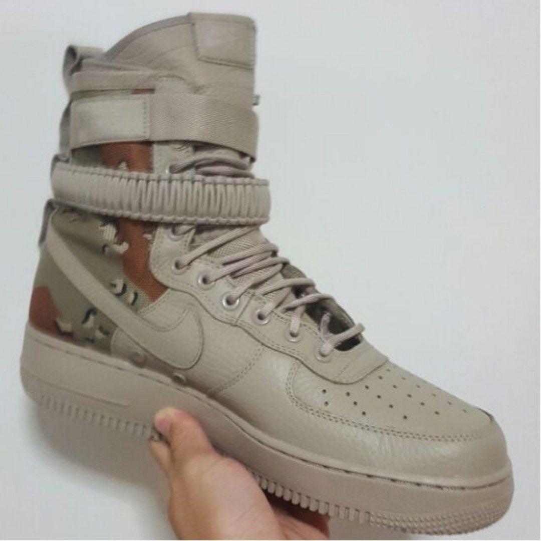 wholesale dealer c9865 447da STEAL AUTHENTIC Nike Special Field Air Force 1 SF-AF1 Desert Camo US10UK9,  Mens ...