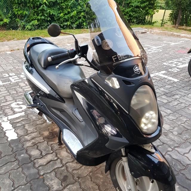 sym gts 200 scooter (bike reserved ), Motorbikes, Motorbikes