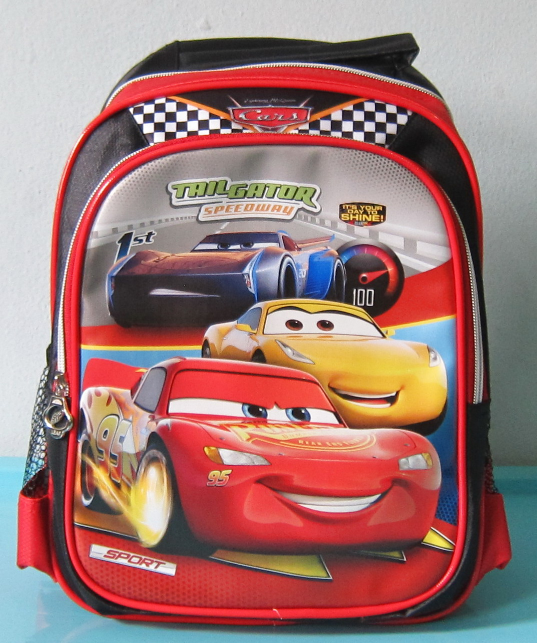 Tas Sekolah Anak Ransel TK CARS 3 Logo Atas