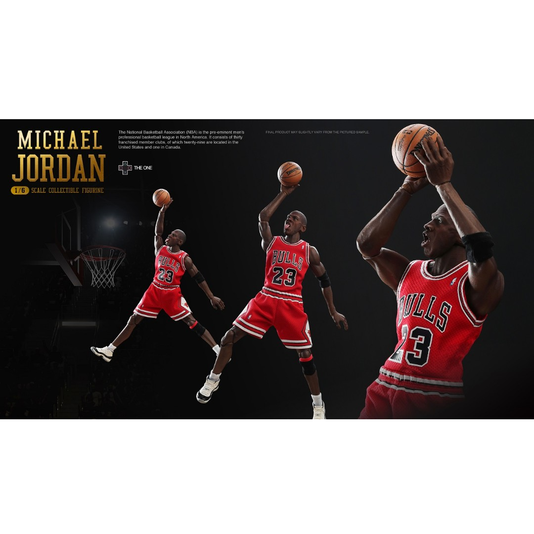 a4f32fbf73bca8 The One ST-001 1 6 SCALE Michael Jordan NBA BASKETBALL PLAYER ...