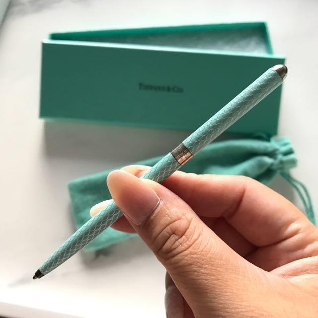 Tiffany and Co Diamond Textured Purse Pen