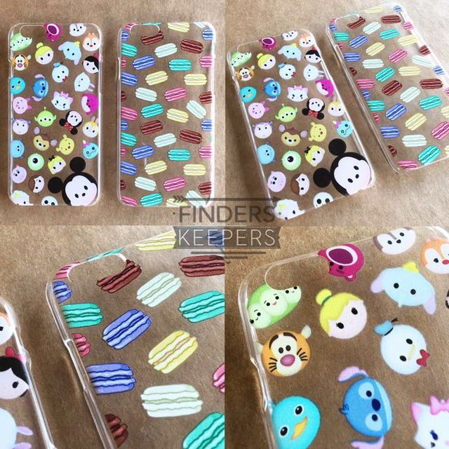 Tsumtsum and Macaron Iphone 6/6s Case