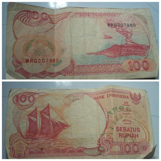 Uang lama 100rupiah