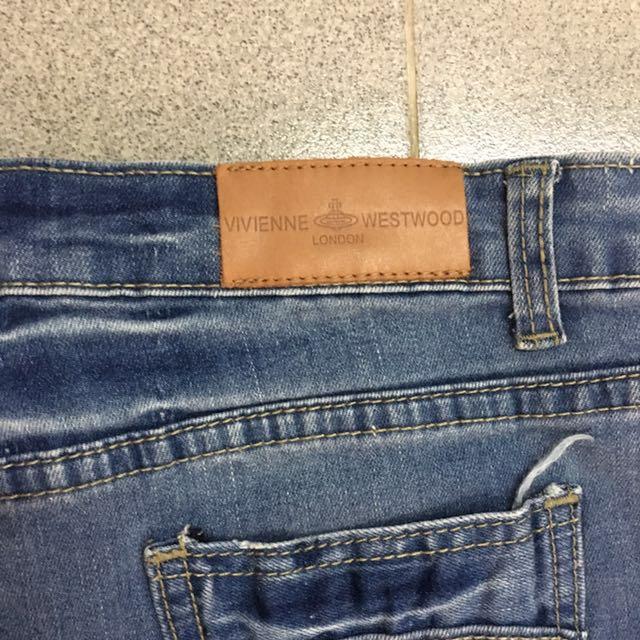 Vivienne Westwood 牛仔裙(腰尺寸32吋)
