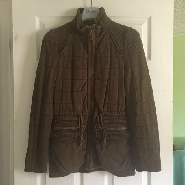 Wilfred, Size 2, Olive Green Fall Coat