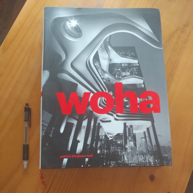 Woha V 2 Architecture Coffee Table Book Books Stationery