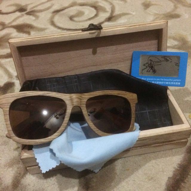 Wooden Polarized Sunglass