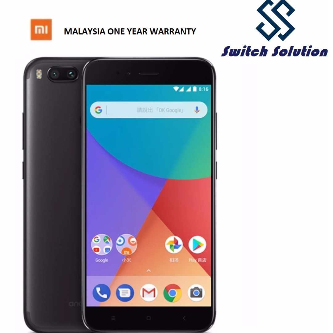 Xiaomi Mi A1 4gb Ram 64gb Rom My Set Mobile Phones Tablets Lcd Fullset 3 Mi3 Touchscreen Android On Carousell