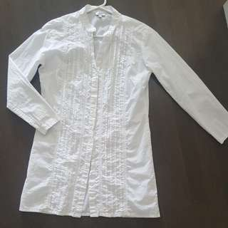 100% Cotton Button Up Tunic