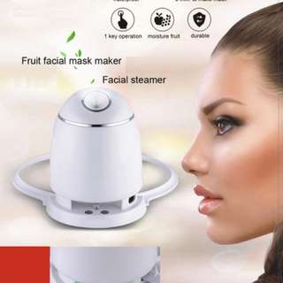 Fruit Mask Maker Machine 3D Print Collagen Mask !!! With Free 24 Collagen Pills Worth 29.90!