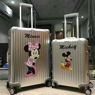 RIMOWA topaz limited edition Mickey Minnie mouse