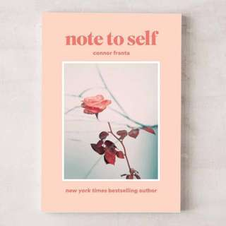 [PO] Note to self by Connor Franta