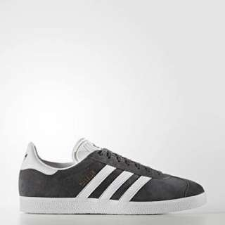 Adidas Grey Gazelles