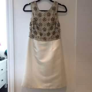 Topshop low back dress Size 4
