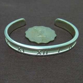 Tiffany & Co 925 silver 羅馬字手鐲