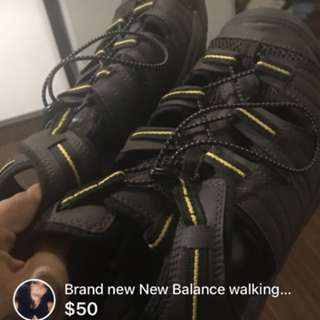 Brand new New Balance hiking sandals