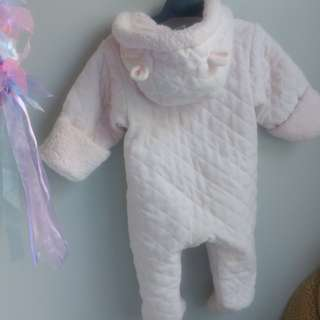 6 - 9 month baby winter coverall one-piece snow winter suite