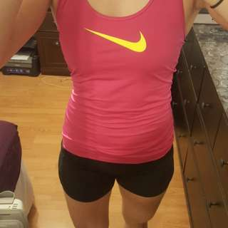 PRICE DROP: NIKE Dri-fit tank (small)