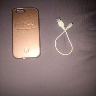 Lumee iPhone Case in Rose Gold [Genuine].