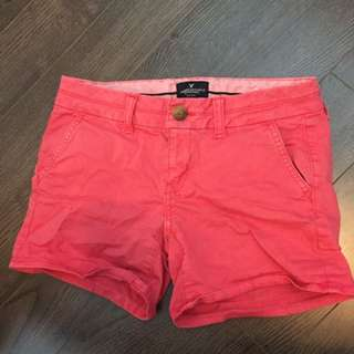 Coral AE shorts