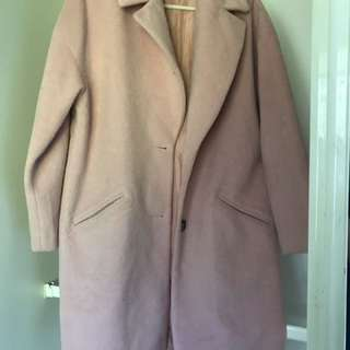 Pink coat size 12-14