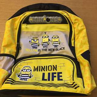 Minion school bag(原價$399)