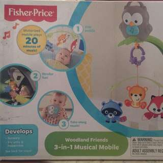 Fishers price 3 in 1 musical mobile