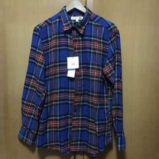 BN JW Anderson X Uniqlo Checked L/S Flannel Size Medium
