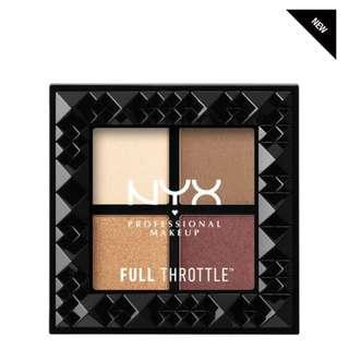 NYX- throttle shadow palette