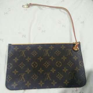 LV original pouch with Mimosa interior