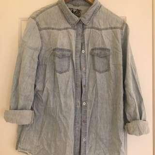 Light weight denim shirt