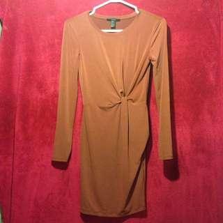 Formal long sleeve dress
