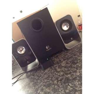 Logitech Stereo Speakers+Subwoofer