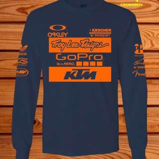 KTM TROY LEE DESIGN LONGSLEEVE TSHIRT