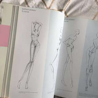 9 Heads - fashion Illustration guide book