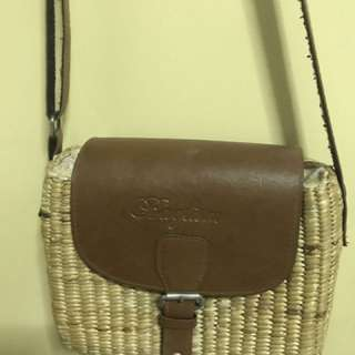 Bohemian basket bag