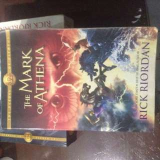 The Heroes Of Olympus Series: The Mark Of Athena